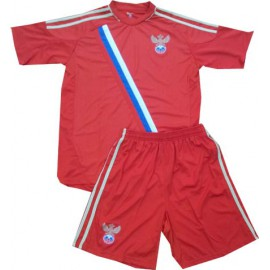 Россия футбольная форма красная