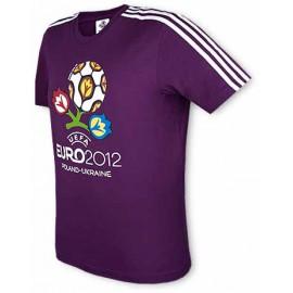 Футболка Адидас Евро-2012 сиреневая