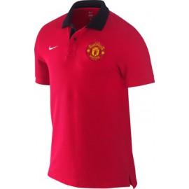 Поло Манчестер Юнайтед NIKE красное