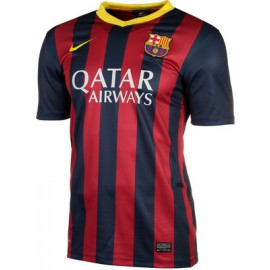 Барселона футболка NIKE 2013/14 домашняя реплика