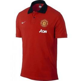 Манчестер Юнайтед поло NIKE красное