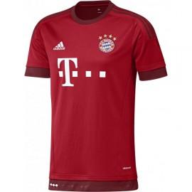 Бавария Футболка игровая Adidas красная 2015/2016
