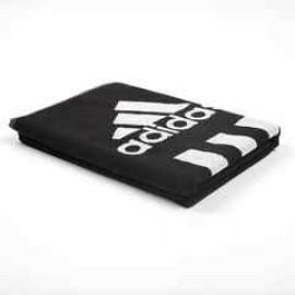 Полотенце черное Adidas