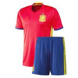 Детская форма сборной Испании 2016 - 2018