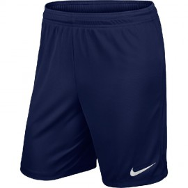 Шорты NIKE PARK II KNIT SHORT NB 725887-410 темно-синие