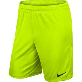 Шорты NIKE PARK II KNIT SHORT NB 725887-702 ярко-желтые