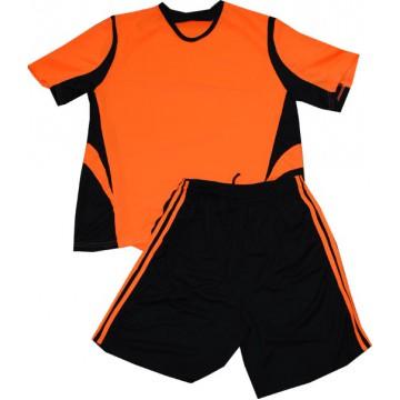 Комплект футбольной формы РС ярко-апельсиновая подростковая