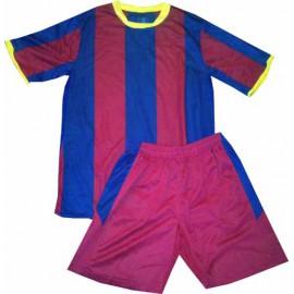 Детская футбольная форма РМ-2011 красно-синяя
