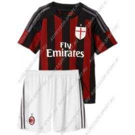 Футбольная форма Милан 2015/16 детская