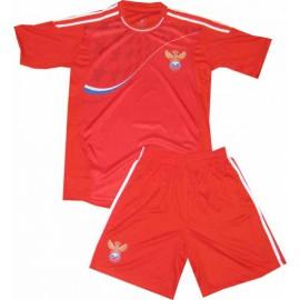 Россия футбольная форма 2011 красная