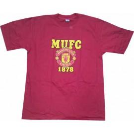 Футболка Манчестер Юнайтед красная