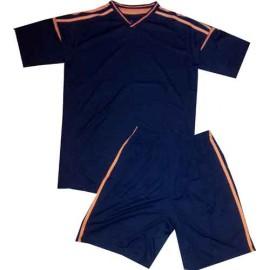 Форма футбольная СЛ-2012 черно-оранжевая