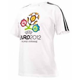 Футболка Адидас Евро-2012 белая