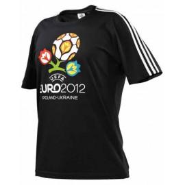 Футболка Адидас Евро-2012 черная