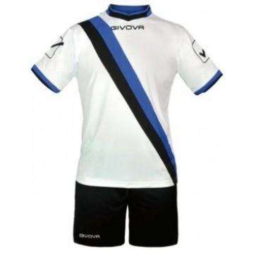 Комплект формы KIT TRANSVERSAL бело-сине-черный GIVOVA