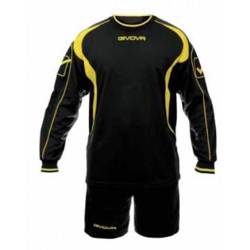Комплект вратарский GIVOVA KIT ALPI черный/желтый