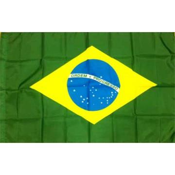Бразилия флаг 80 х 120 см