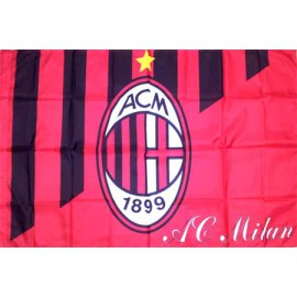 Милан флаг 80 х 120 см