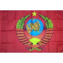 СССР флаг полноцветный 80 х 120 см
