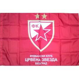 Црвена Звезда / Белград / флаг 80 х 120 см