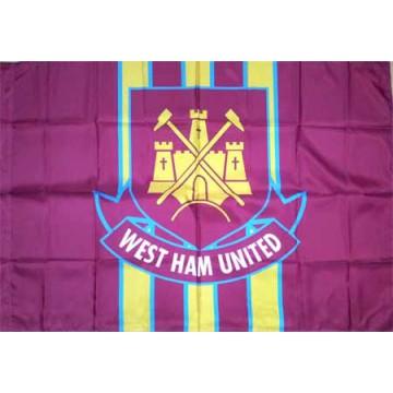 Вест Хэм флаг 80 х 120 см