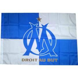 Олимпик Марсель флаг 80 х 120 см