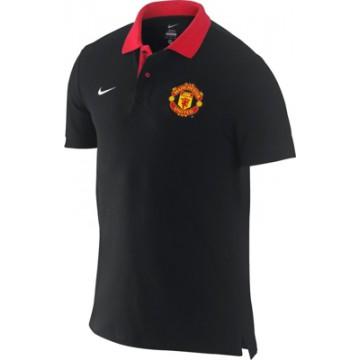 Поло Манчестер Юнайтед NIKE черное