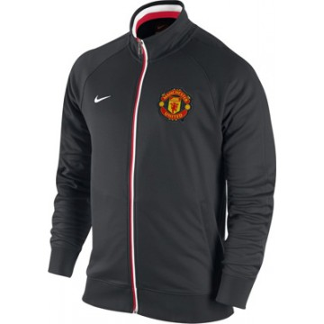 Олимпийка Манчестер Юнайтед NIKE черная