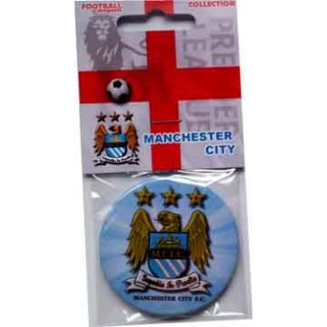Манчестер Сити магнит круглый 56 мм