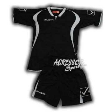 Комплект формы KIT ARES черно-белая