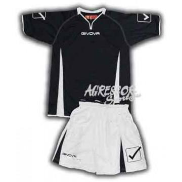 Комплект формы KIT CORNER черно-белая