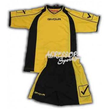 Комплект формы KIT CROSS желто-черный