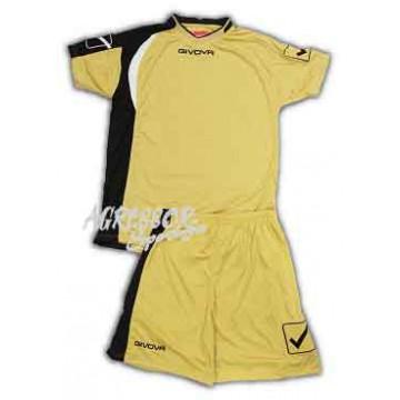 Комплект формы KIT CENTRO желто-золотой