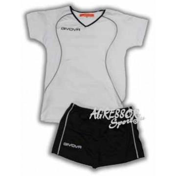 Волейбольная форма женская KIT ATTACO белая