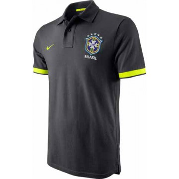 Бразилия поло NIKE темно-серое