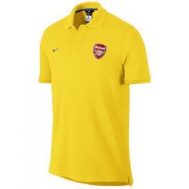 Поло Арсенал nike желтое