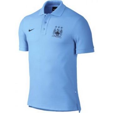 Манчестер Сити поло nike голубое