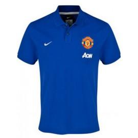 Манчестер Юнайтед поло NIKE синее