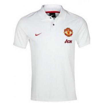 Манчестер Юнайтед поло NIKE белое