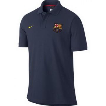 Барселона поло nike темно-синее 2014