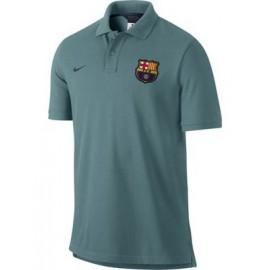 Поло Барселона nike сине-зеленое