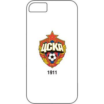 Клип-кейс для iPhone 5/5S ЦСКА белый