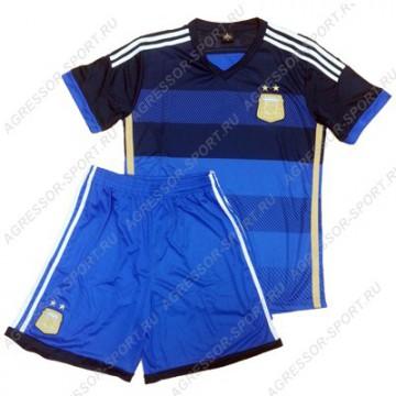 8760010e67b1 Форма сборной Аргентины 2014 СИНЯЯ -