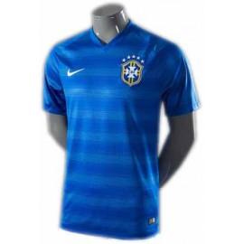 Бразилия футболка гостевая 2014-15 Найк