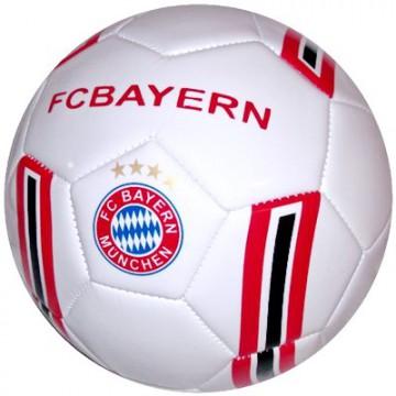 Мяч футбольный Бавария белый