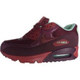 Кроссовки Nike Air Max 90 бордовые