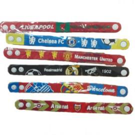 Браслеты с символикой футбольных клубов