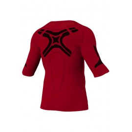 Компрессионная термофутболка красная Adidas