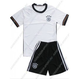 Детская форма Германии 2016-18 белая