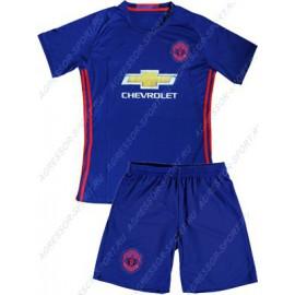 Форма ДЕТСКАЯ Манчестер Юнайтед 2016/17 синяя